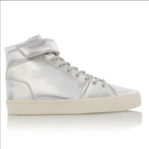 Creative Recreation Silver High Top Sneakers